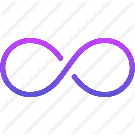 Infinity transparent svg free. Signs icons