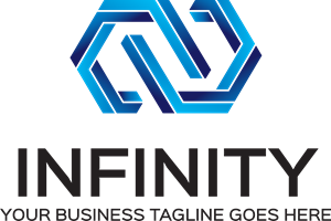 Infinity transparent vector. Logo eps free download
