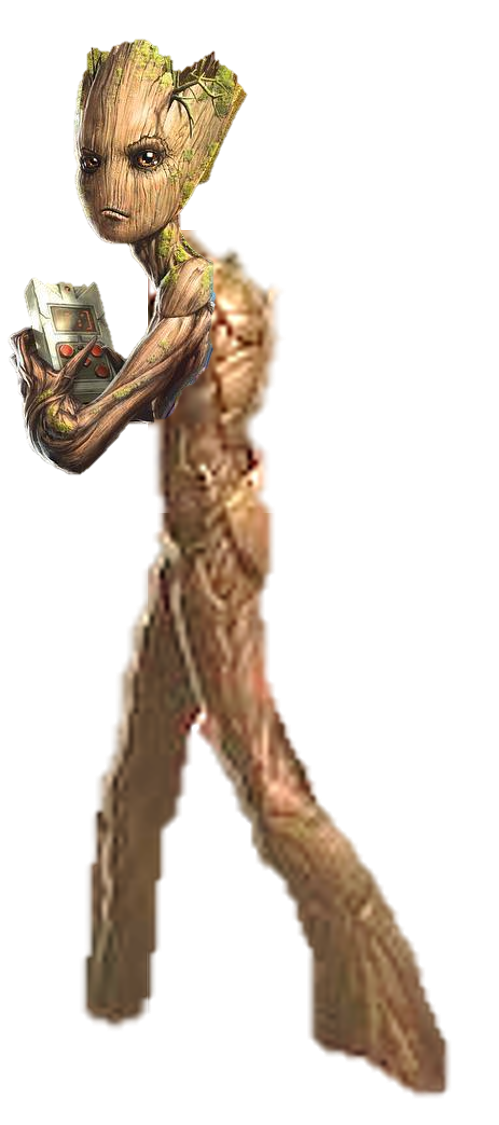 Groot transparent human. Infinity war by captain
