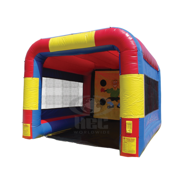 Inflatable speed pitch cage product png. Ride for sale bounce