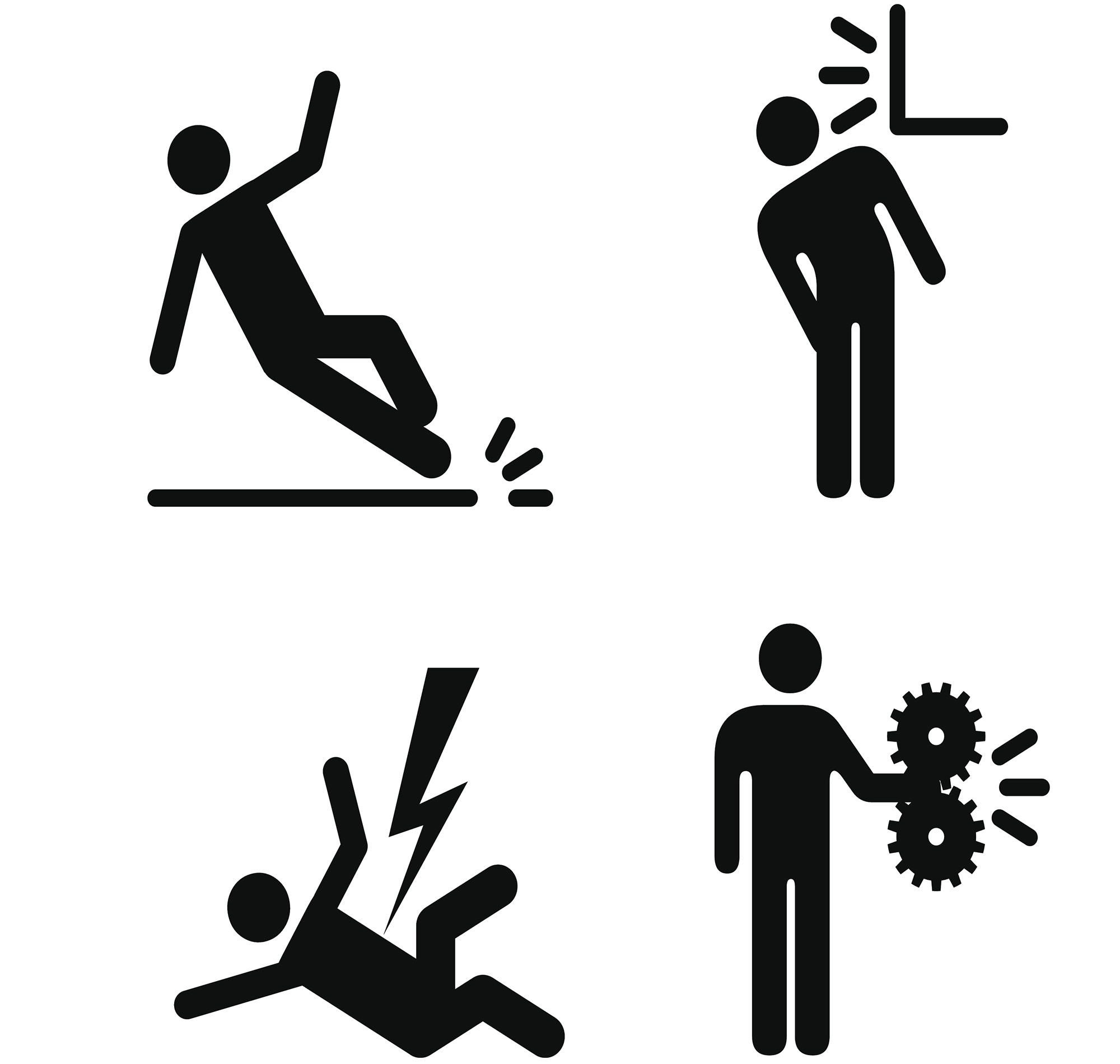 Slip clipart industrial accident. Calculating the true cost