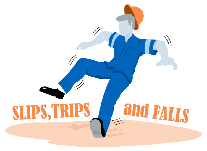 Slip clipart industrial accident. Steps employers can take