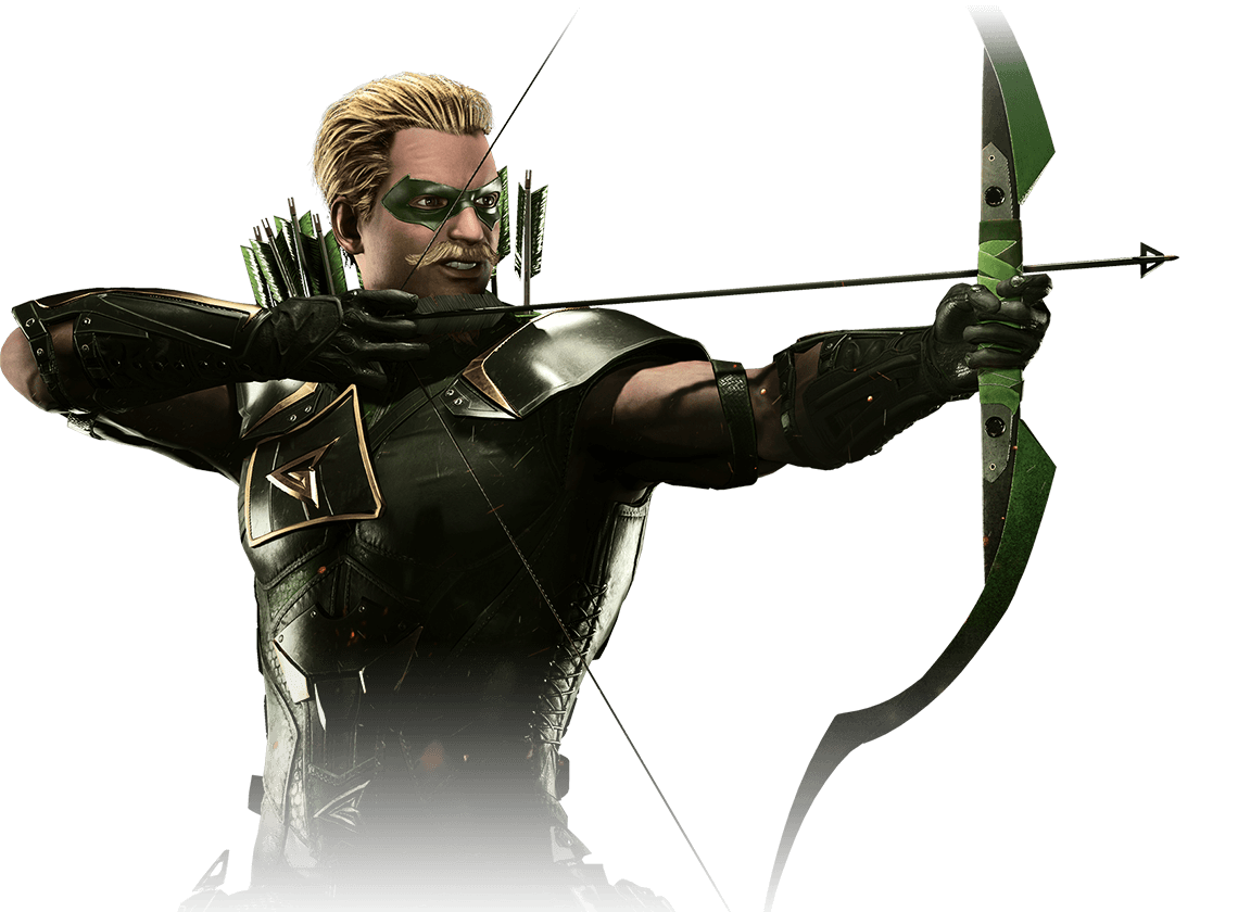 Green arrow dc png. Injustice gear stats moves