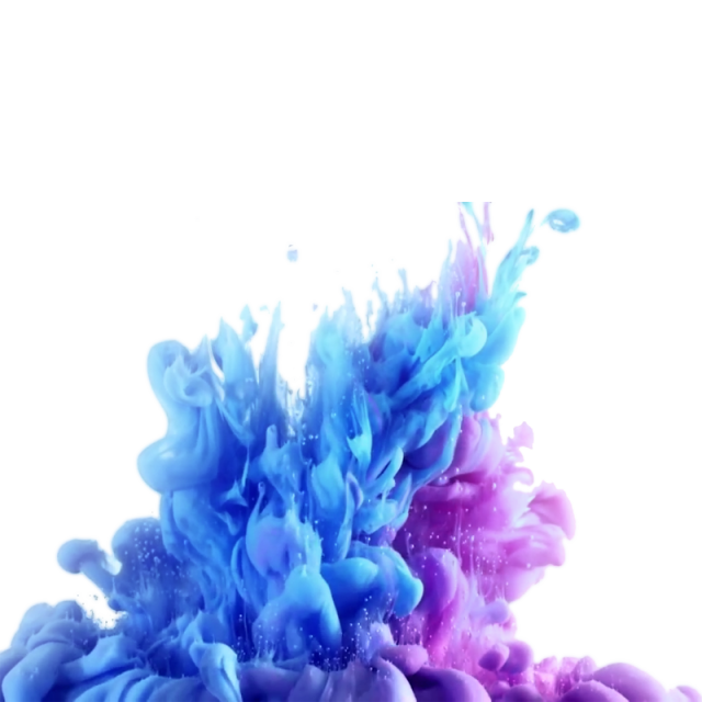 Ink in water png. Awesome olorful colourful marks