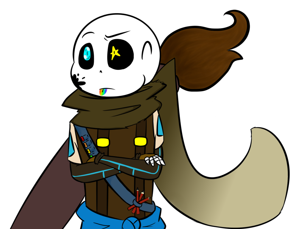 Ink sans png. Chibi by autumnrainstorms on