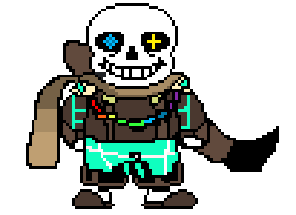 Ink sans png. Pixel art maker inksans