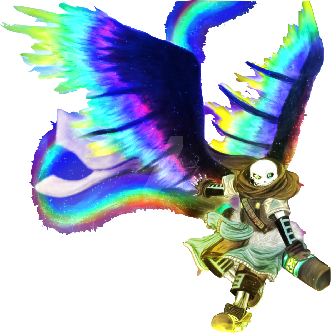Ink sans png. Image winged by metalphoenixx