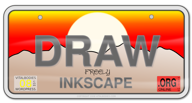 Svg programs. Open source inkscape scalable