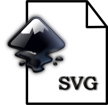 Inkspace svg. Icon can inkscape be