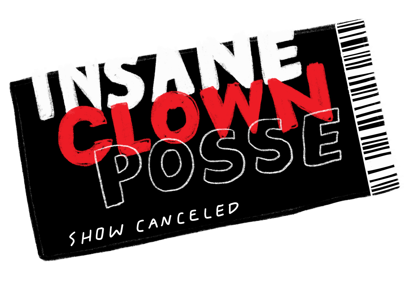 Insane clown posse png. The dark carnival that