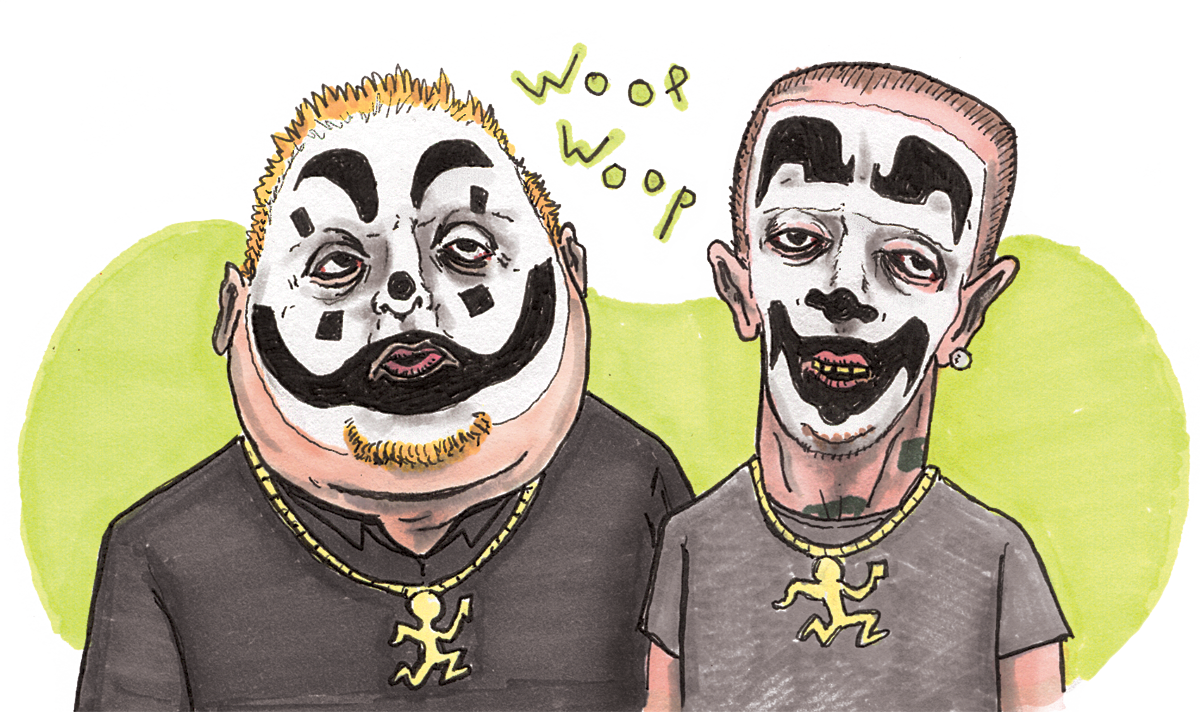 Insane clown posse png. A gathering of juggafacts
