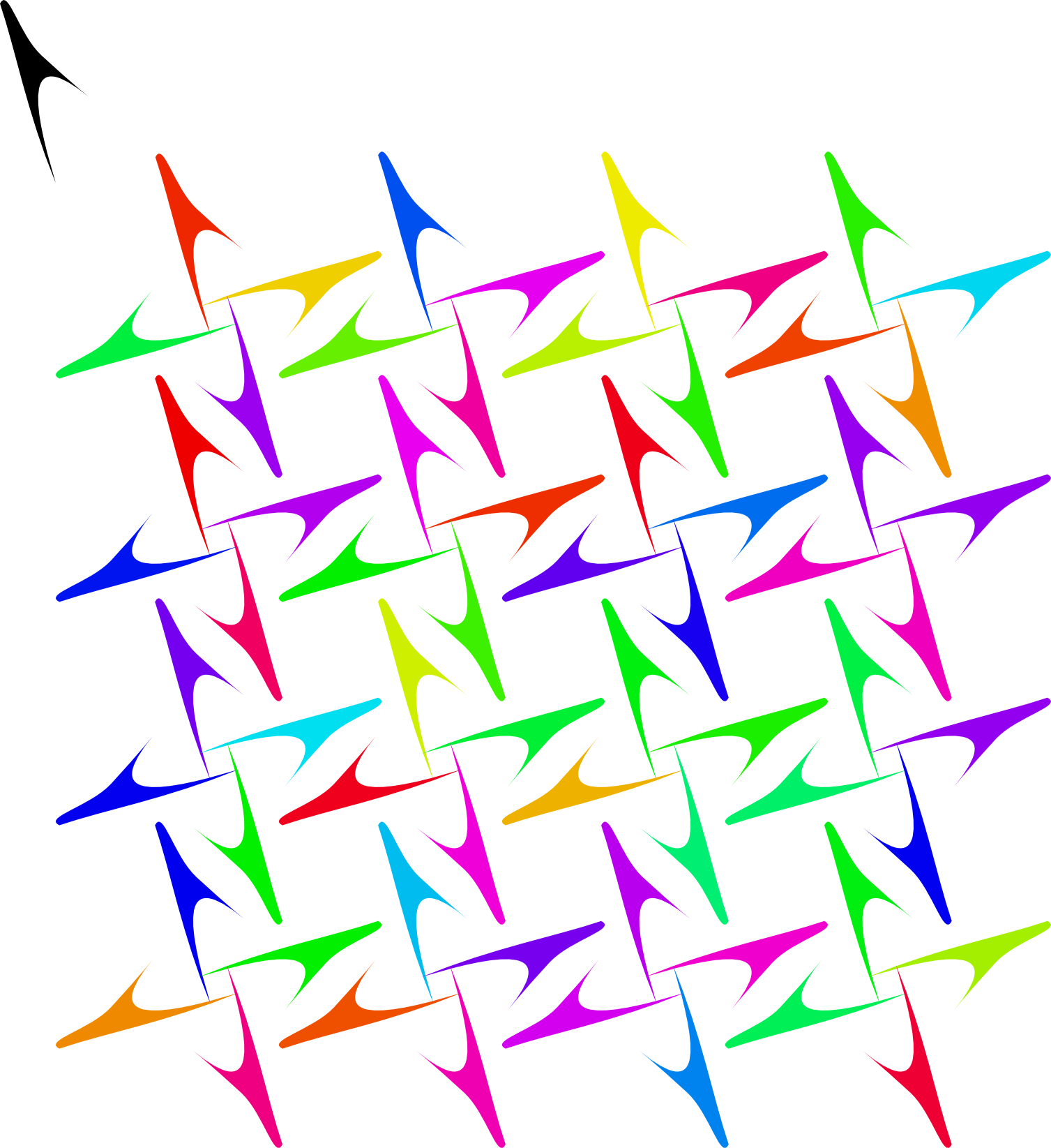 Inscape drawing symmetrical. Creating patterns in inkscape