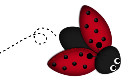 Ladybug clipart cycle. Banner clip art library