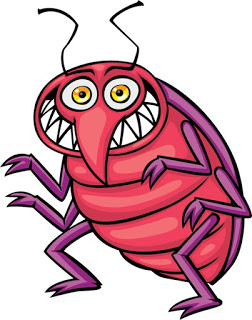 Insect clipart scary. Yaar no technology findbugs