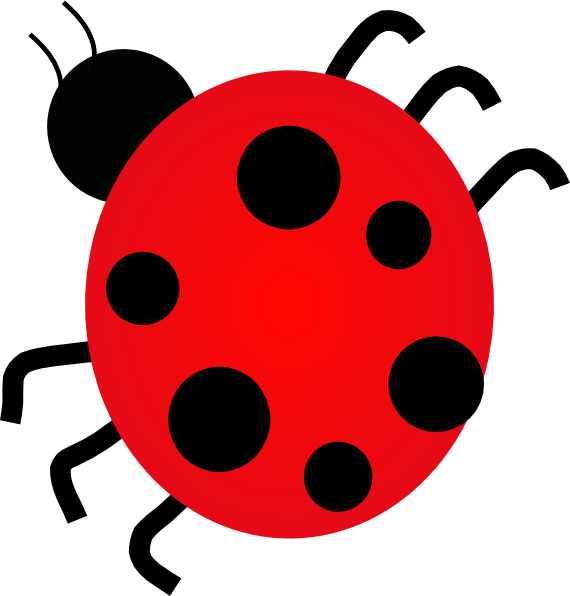 Lady bug clip art. Insect clipart small insect graphic freeuse library