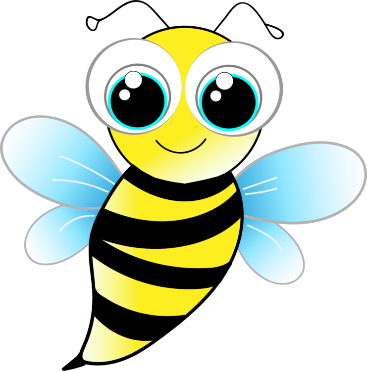 Wasp vector animated. Bumblebee honey bee insect
