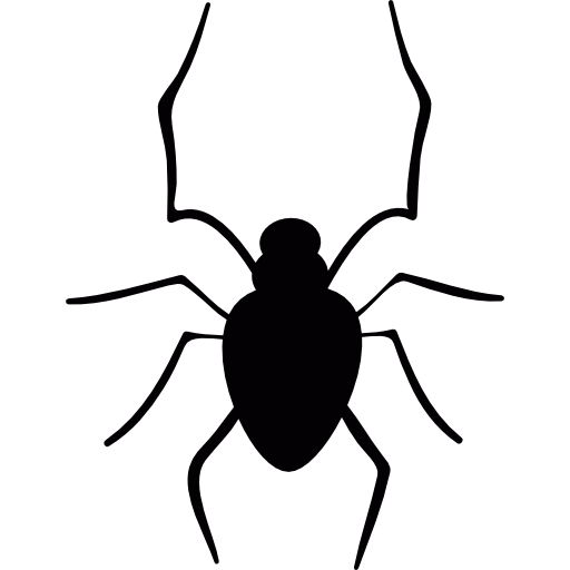Insect legs png scary. Spiders icon svg