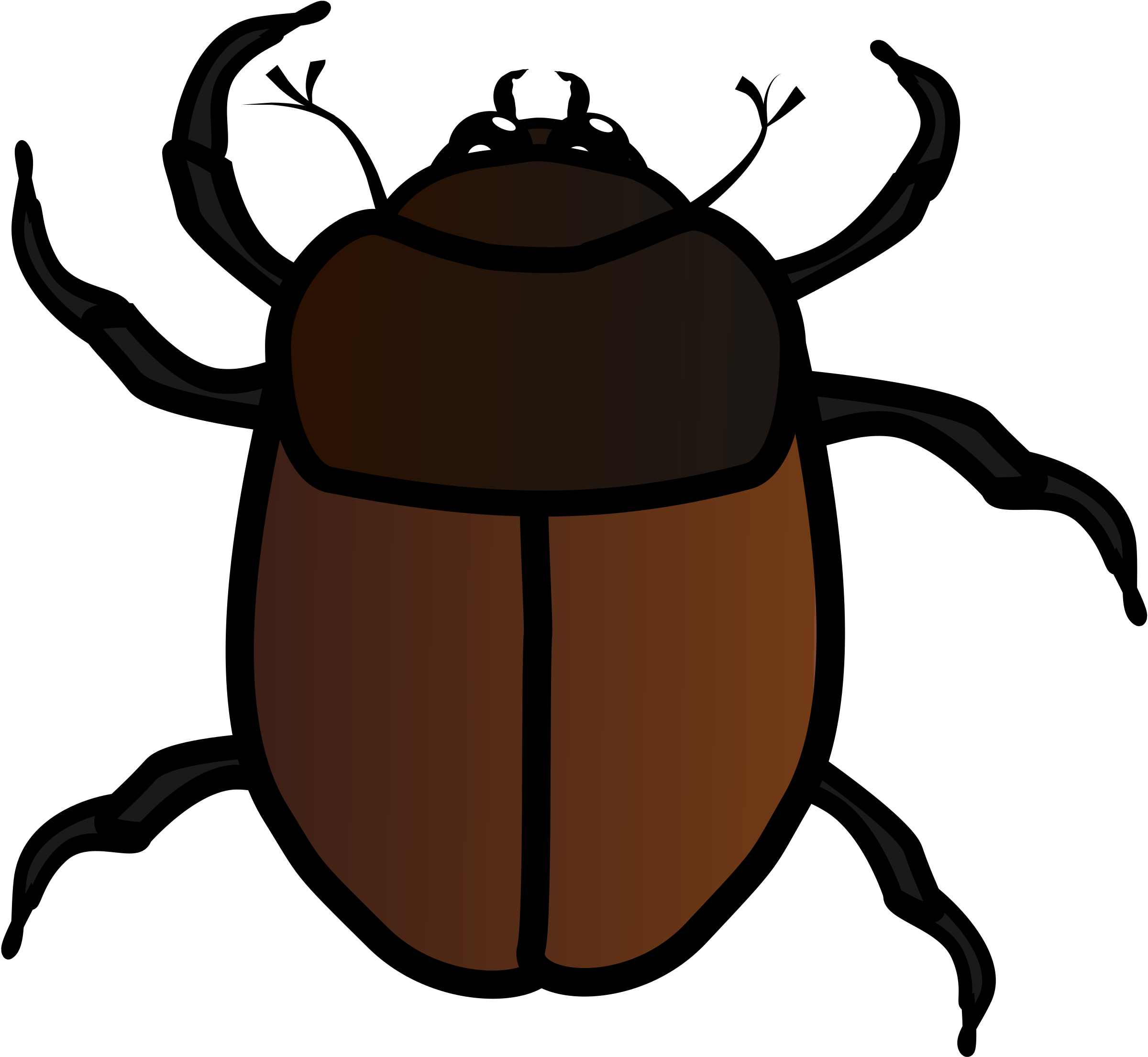 Insects clipart desert insect. June bug big image