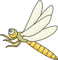 Insects clipart dragonfly. Insect pencil and in