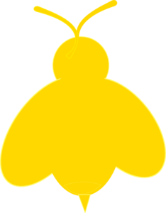 Bugs clipart yellow bug. Free lightening cliparts download