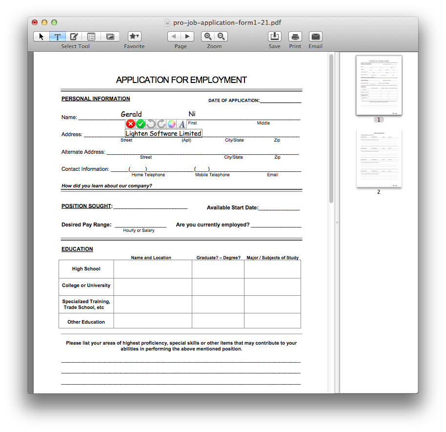 Insert png signature into pdf. How to sign on