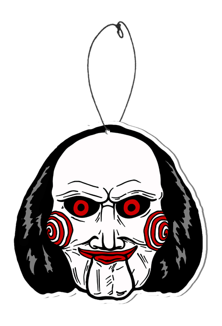 Sewer drawing haunted. Billy puppet scare freshener