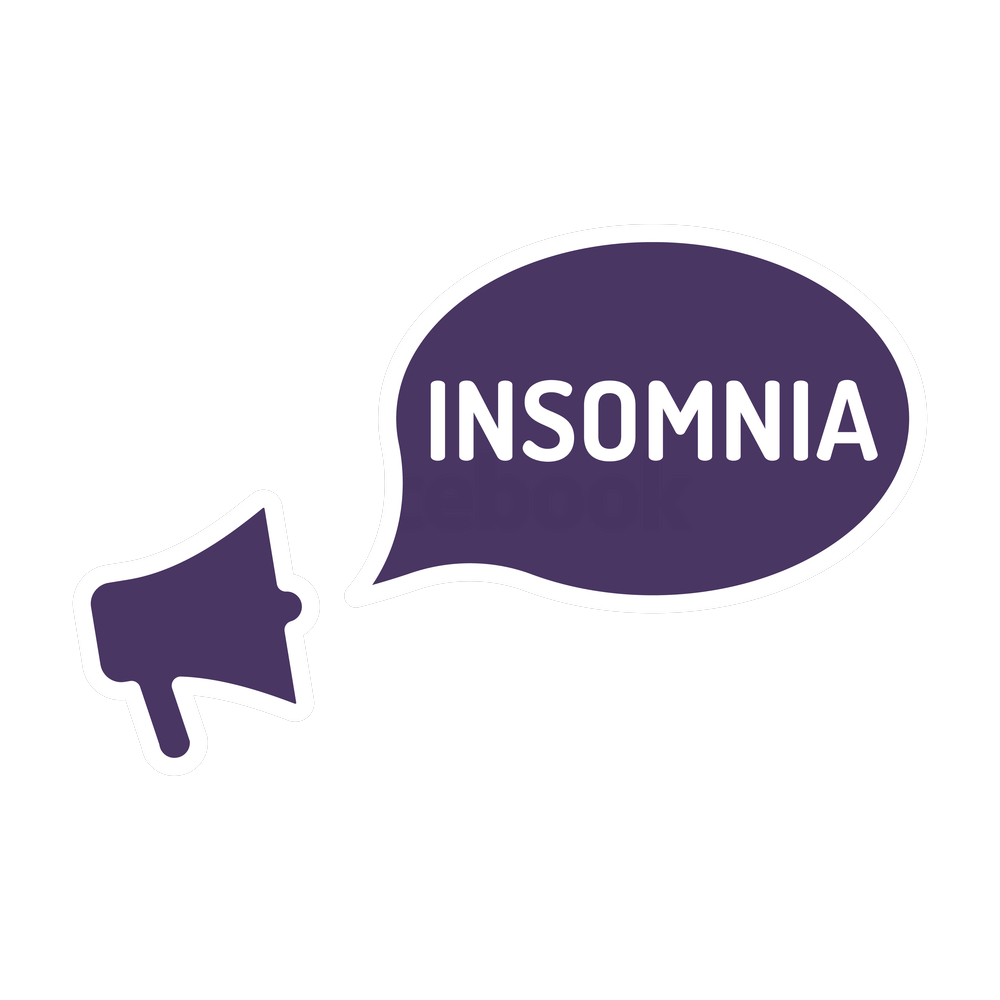 Insomnia drawing mental problem. Recognizing treating chapter