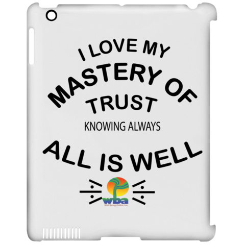 Inspirational clip positive. Ipad case affirmations my