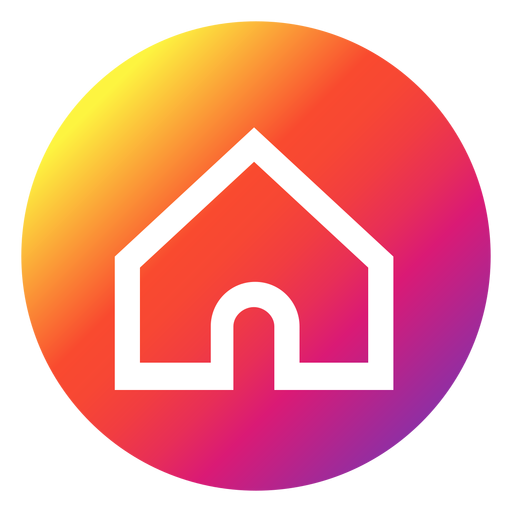 Instagram png. Home button transparent svg