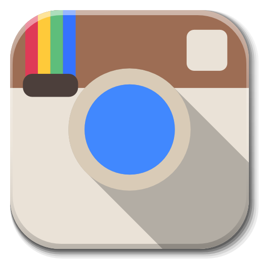 Apps icons png. Instagram icon flatwoken iconset
