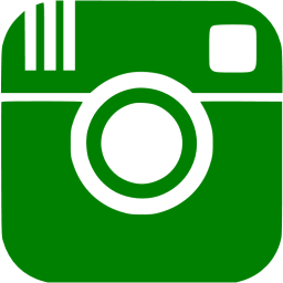 Instagram clipart instagram icon. Green free social icons