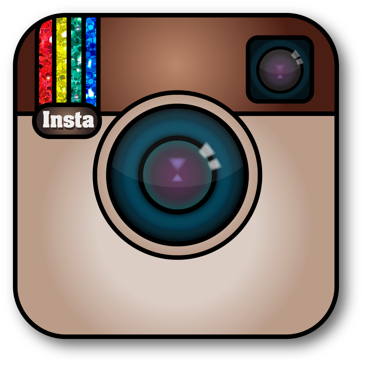 Instagram clipart instagram icon. Utilizing in the classroom