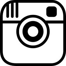 Instagram clipart silhouette. Free icon to create