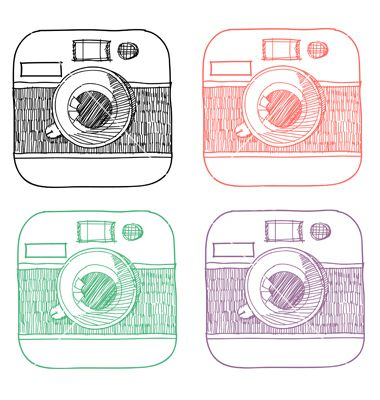 Instagram clipart vector. Best icons images