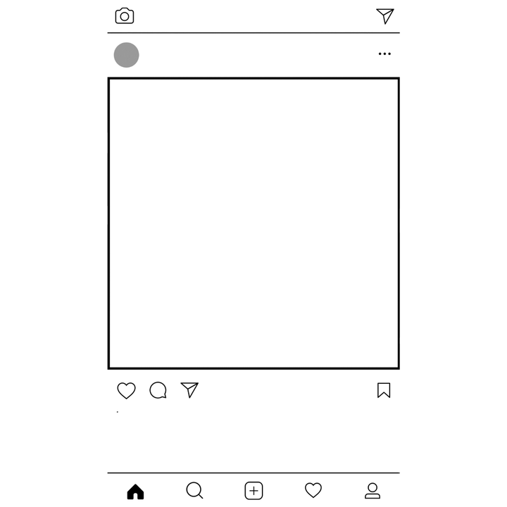 Instagram frame png. Images in collection page