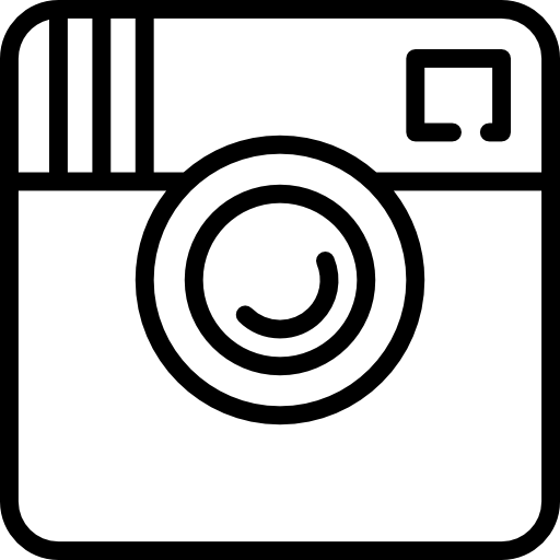 Instagram logo white png. Big free social media