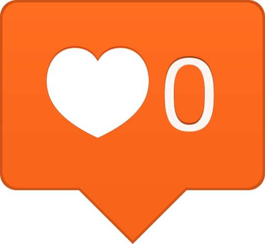 Instagram like png. Free icon download animation