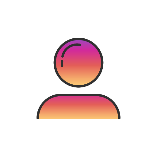 Instagram logo pink png. Ui colored by vectto