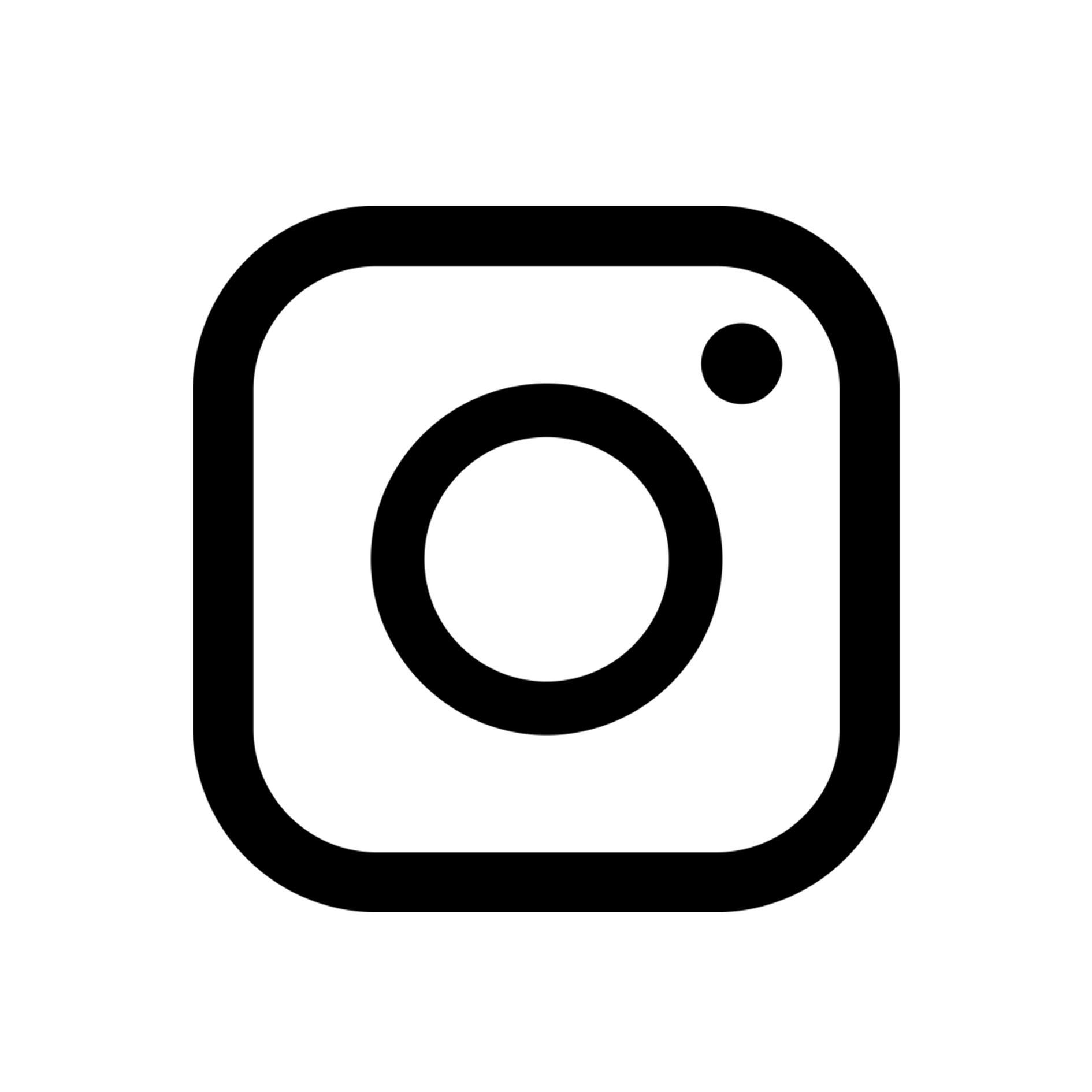 New instagram logo png. With white circle background