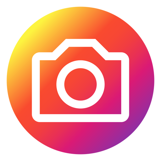 Instagram logo transparent background png. Icon gif