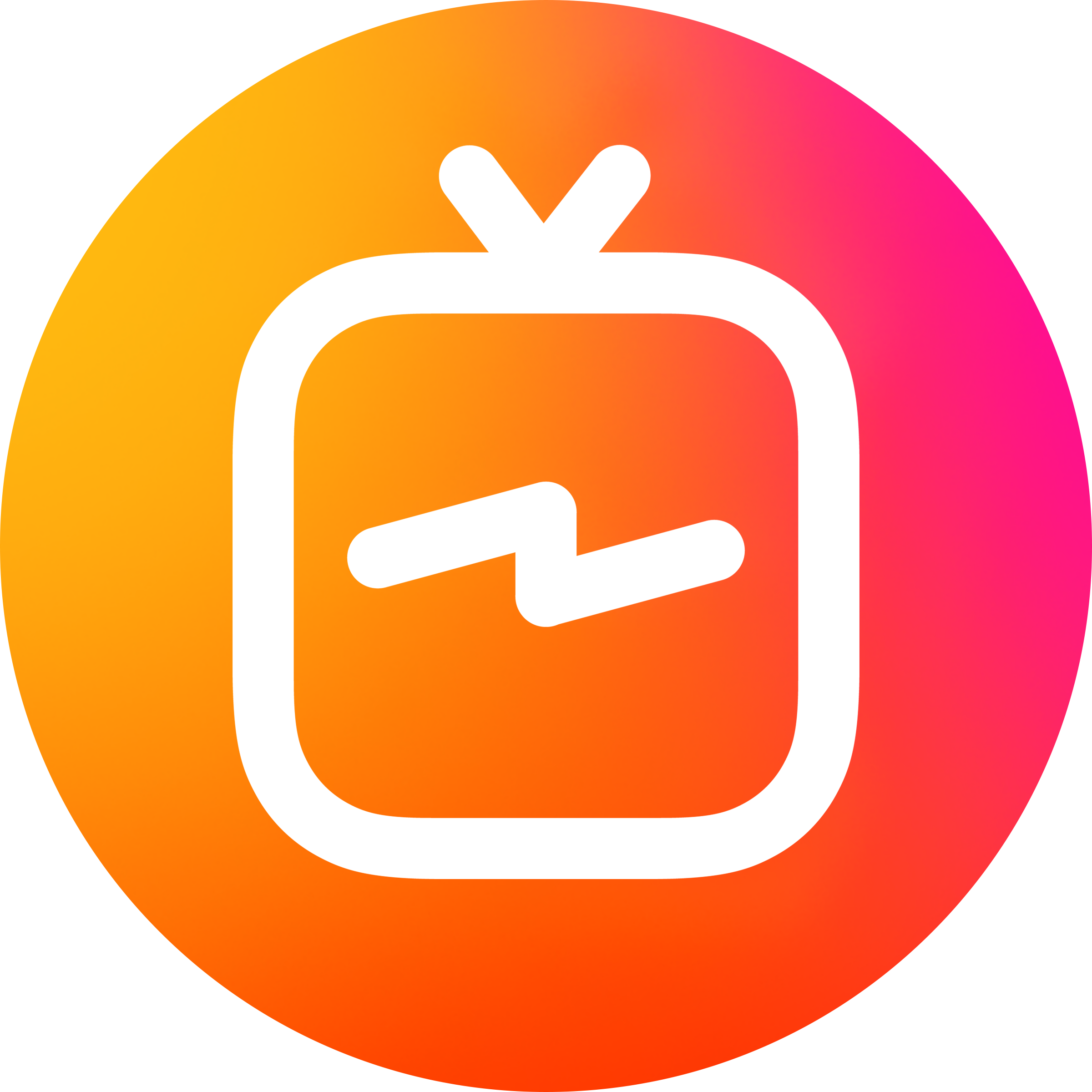 Instagram png transparent background. New igtv logo edigital
