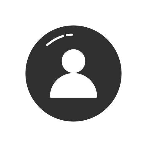 Instagram profile photo png. Person follow icon size
