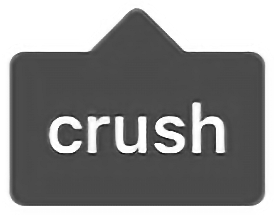 Instagram tag png. Crush love edit grey