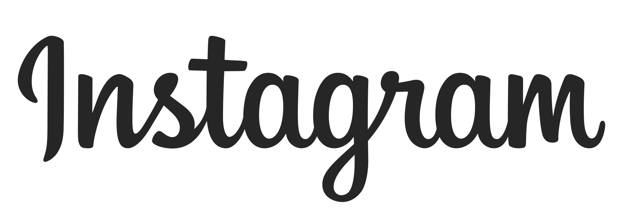 Instagram text png. Logo