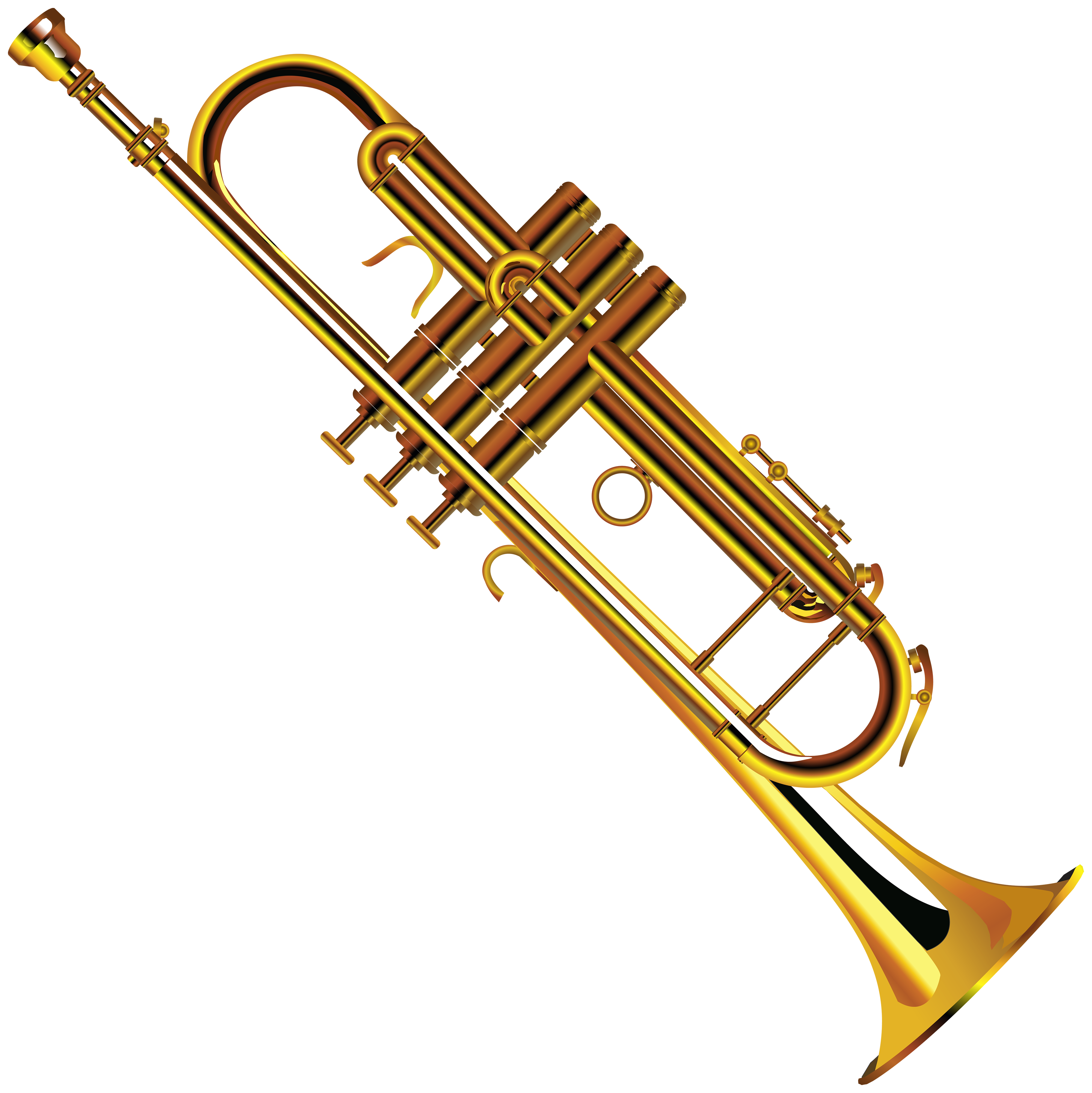Trumpet Transparent & PNG Clipart Free Download - YA-webdesign
