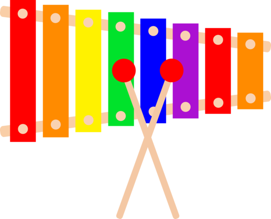 Instruments clipart colorful. Xylophone design free clip