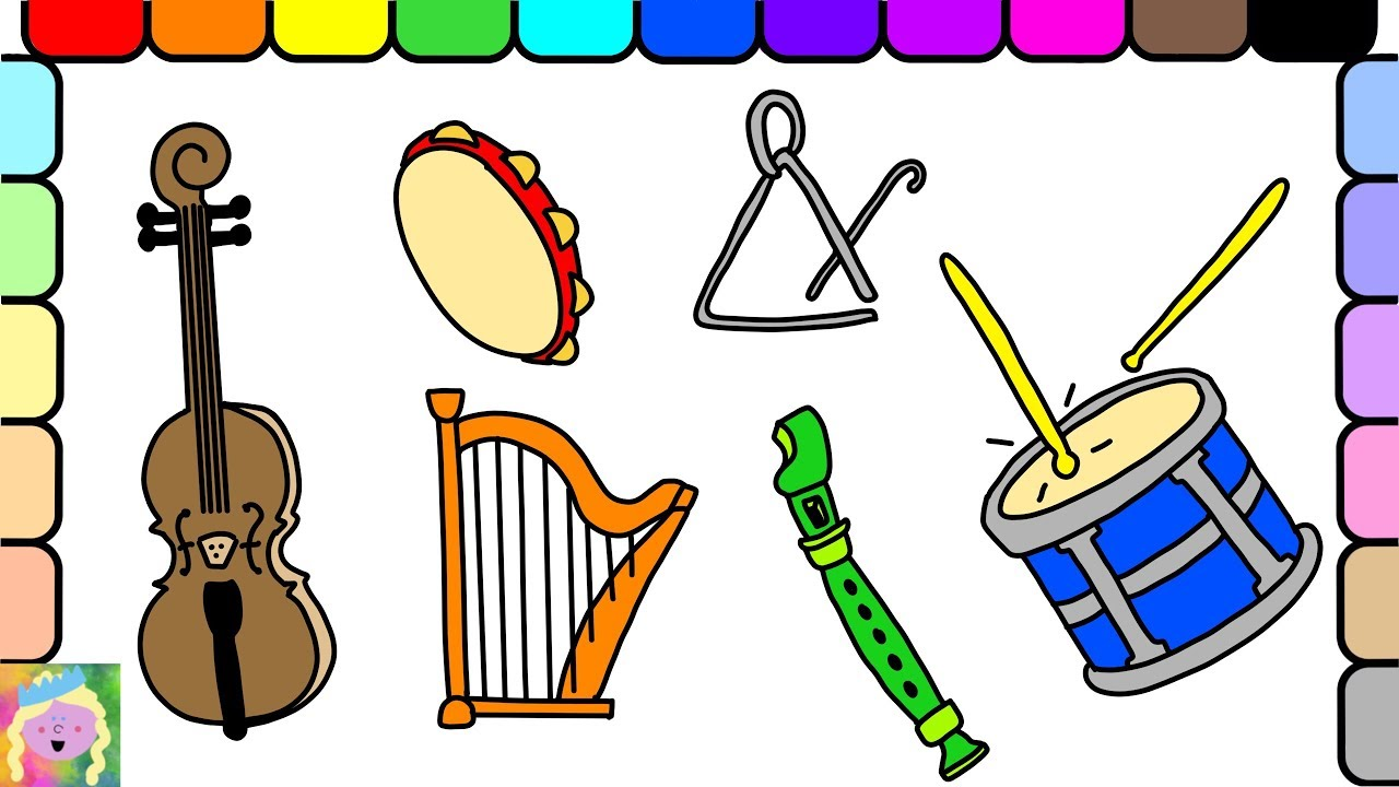 instruments clipart fun
