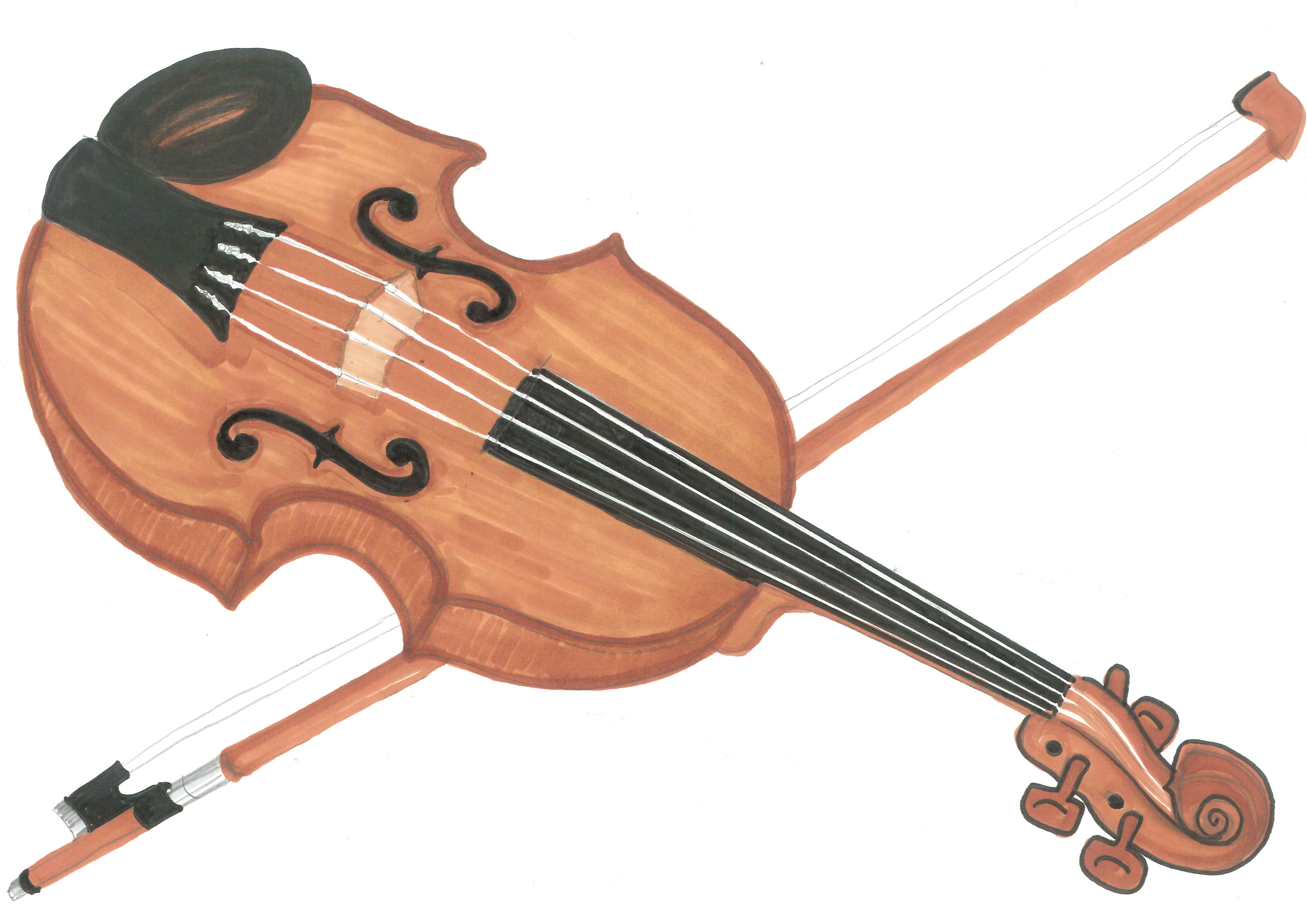 Instruments clipart string instrument. Music of musical typegoodies