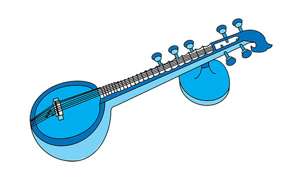 Instruments clipart veena. The milapfest did you
