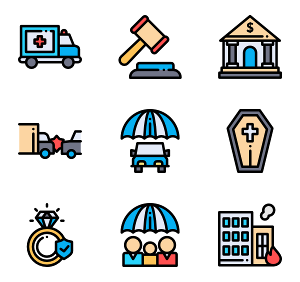 Change vector icon. Insurance icons free